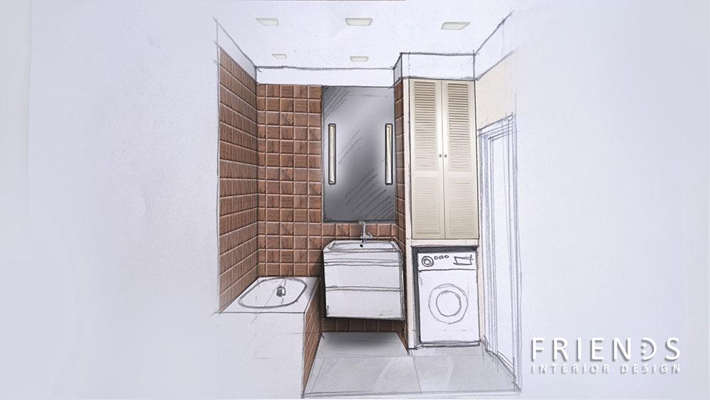 004-Ванная-эскиз